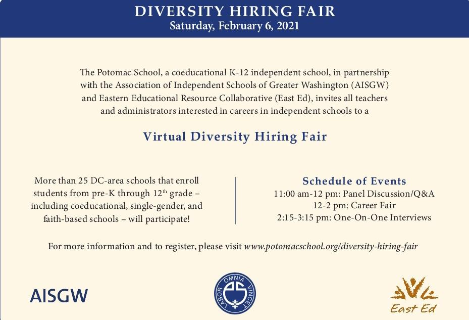 Virtual Diversity Hiring Fair